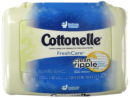 Kleenex Cottonelle FreshCare Flushable Cleansing Cloths