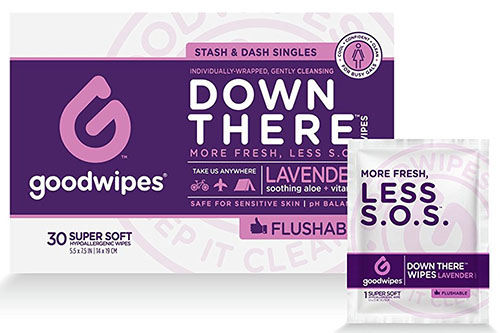 Good Wipes Flushable Wet Wipes Cleansing Wipes