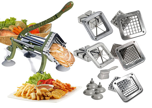 TigerChef commercial French fry cutter