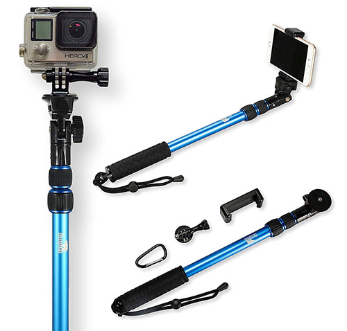 huge selection of 36d02 71c7a Top 12 Best Waterproof Selfie Sticks for GoPro in 2019 Reviews