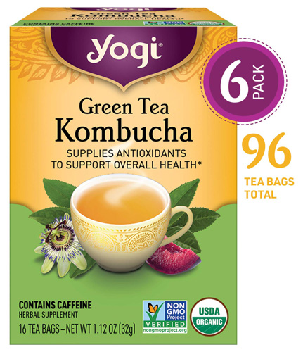 Yogi Green tea with super antioxidants