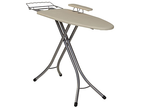 Household Essentials 971840-1 Wide Top 4-Leg Mega Ironing Board