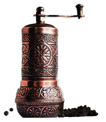 Bazaar Anatolia pepper grinder, spice grinder, pepper mill, Turkish grinder (4.2