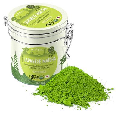 Premium Japanese Matcha Green Tea Powder