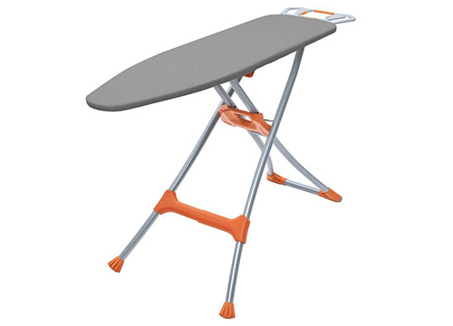 Homz Durabilt DX1500 Premium Steel Top Ironing Board:-