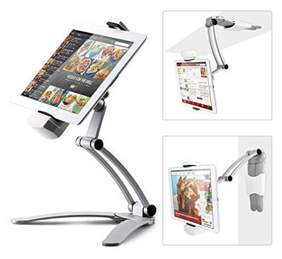 Kitchen Tablet Mount Stand iKross 2-in-1 Kitchen Wall