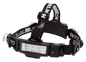 Steelman pro 78834 slim profile rechargeable led 250-lumen motion-activated headlamp
