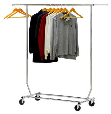 Simple Houseware Supreme Commercial Grade Clothing Garment Rack