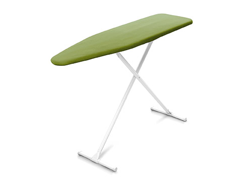 Homz T-Leg Steel Top Ironing Board