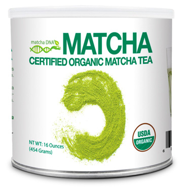 Matcha Certified Organic Green Tea Powder