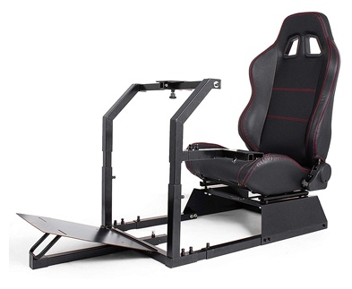 Happybuy GTA-F Model Racing Simulator Cockpit Gaming Chair