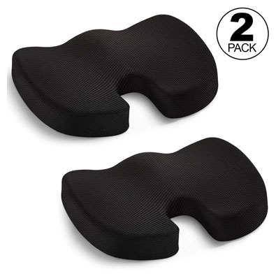 Seat Cushion - Car Seat Butt Pillow, Hip Support for Office Chair and Wheelchair
