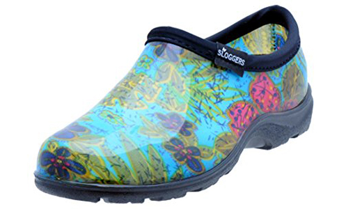 Sloggers Women's Rain and Garden Shoe Style 5102BL09