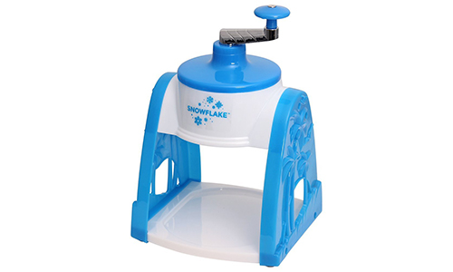 Snowflake Time for treats manual snowmaker