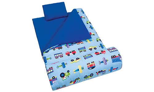 Olive Kids Planes, Trains, & Trucks Original Sleeping Bag