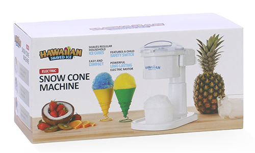 Hawaiian shaved ice S700 Electric snow cone maker