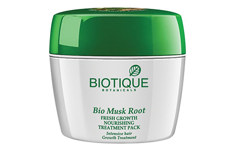 Biotique Musk Root Fresh Growth Mask: