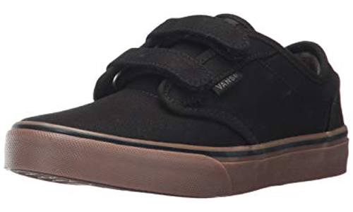 Unisex Kids' Atwood Canvas Casual Low-Top Skate Shoes by Vans