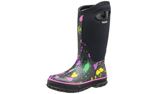 Bogs Kids Classic Paint Splat Winter Snow Boot: 4.9 stars out of 5