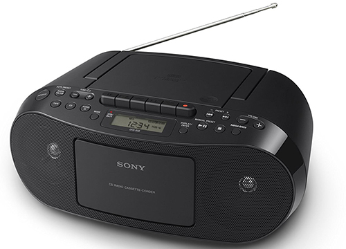 Sony CFDS50 Portable CD, Cassette & AM/FM Radio Boom box