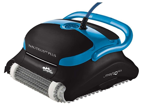 Dolphin 99996403-PC The Dolphin Nautilus plus Robotic Pool Cleaner