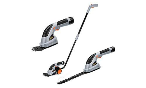 2 in 1 Cordless Grass Shears Hedge Trimmer by VonHaus