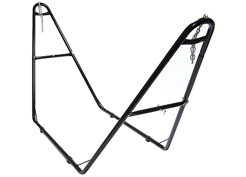 Sunnydaze's Steel Hammock Stand - Universal Multi-Use and Heavy-Duty