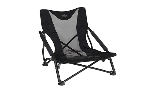 Cascade Mountain Tech Lightweight, Compact and Durable Low Profile Chair