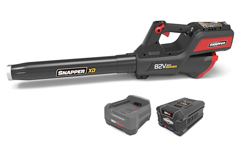 Snapper 550 CFM Cordless Leaf Blower Kit with 2Ah Battery & Rapid Charger, 168787 (Rating-4.7, 12 customer reviews)