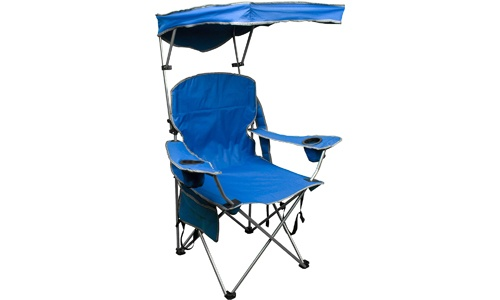 Adjustable Canopy Folding Camp Chair by Quick Shade