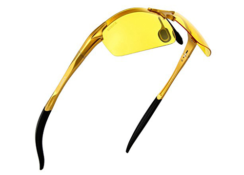 Lazarap Men's HD Polarized Night Driving Glasses
