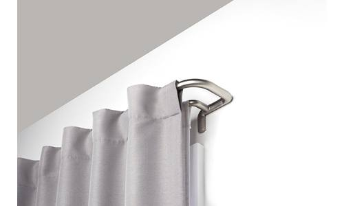Umbra Twilight Double Curtain Rod Set Wrap Around Design