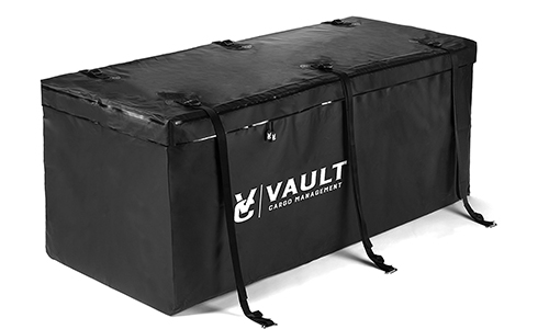 Waterproof Cargo Hitch Carrier Bag from Vault Cargo – 15 Cubic Feet -