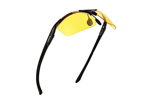 Manneco HD Polarized Anti-Glare Safety Glasses for Night Driving