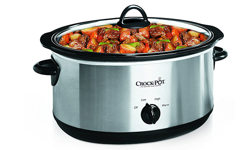 Crock-Pot 7-Quart Oval Manual Slow Cooker