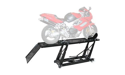 Rage Power sports BW-550 Black Widow Hydraulic Motorcycle Lift