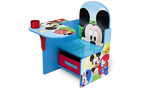 Delta Children Chair Desk – New features like, Disney Mickey Mouse and Storage Bin