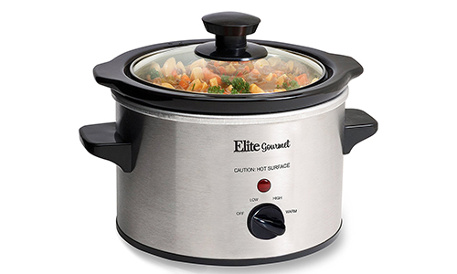 Elite Gourmet MST-250XS 1.5 Quart Slow Cooker
