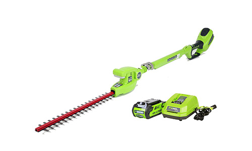 Amazon G-MAX Cordless Pole Hedge Trimmer