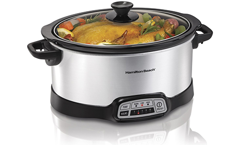 Hamilton Beach 33473 Programmable Slow Cooker