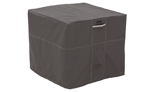 Classic Accessories Ravenna Square Air Conditioner Cover - Premium Outdoor Cover with Durable and Water Resistant Fabric (55-189-015101-EC)
