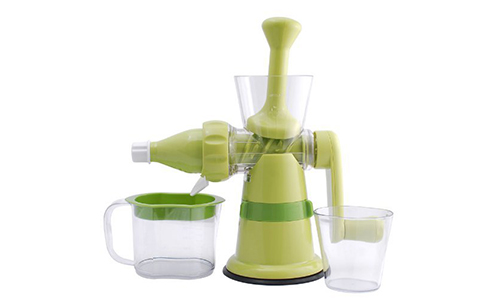 Chef's Star® Manual Hand Crank Juicer