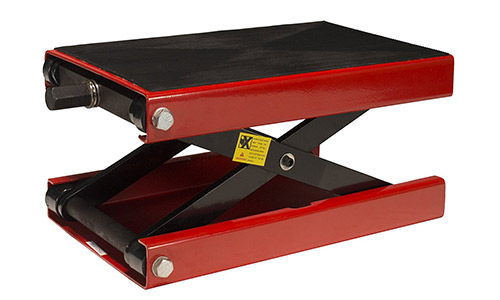Dragway Tools 1100 LB Wide Deck Motorcycle Center Scissor Lift Jack