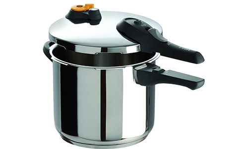 T-fal P25107 Stainless Steel Pressure Cooker Cookware