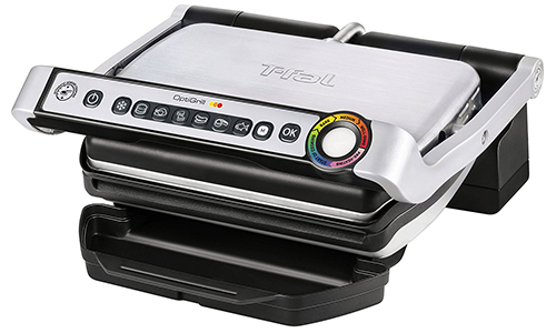 T-fal GC702 OptiGrill Stainless Steel Indoor Electric Grill