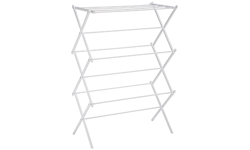 Amazon Basics Foldable Drying Rack – White