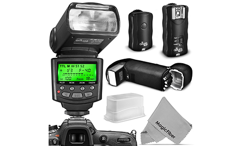 Altura Photo Professional Flash Kit for NIKON DSLR