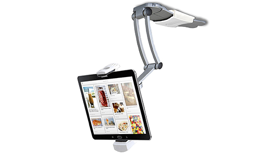 2-in-1 Kitchen Mount Stand for 7-13 Inch Tablets