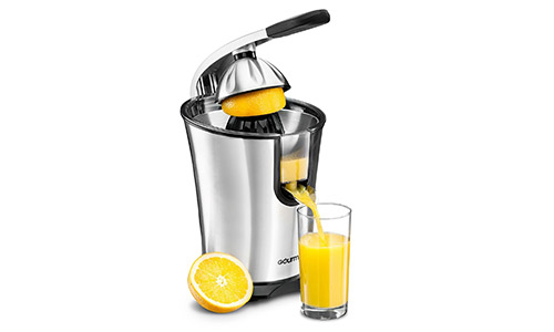 Gourmia EPJ100 Electric Citrus Juicer Stainless Steel