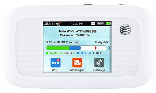 AT&T Velocity 4G LTE Mobile Wi-Fi Hotspot
